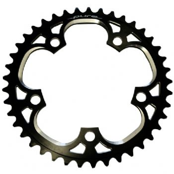 P Tech 5 Bolt Chainring Black